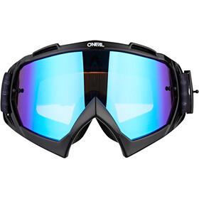 O'Neal B-10 Gafas, warhawk black/gray-radium blue